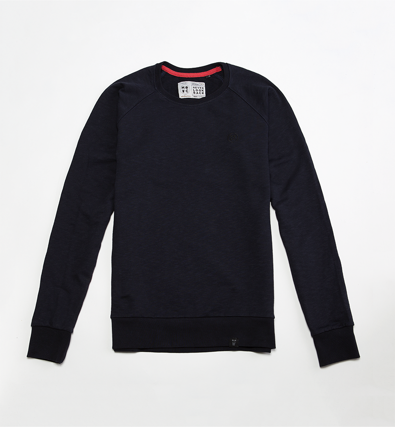 Milk and Cookiez sweatshirt dark blue logo