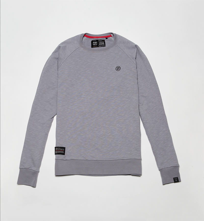 Milk and Cookiez sweatshirt grey logo