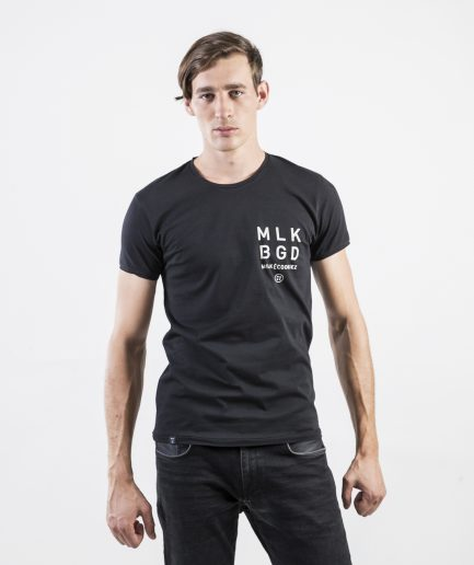 Milk and Cookiez MLK BGD Belgrade black Brand t-shirt t shirt Men model