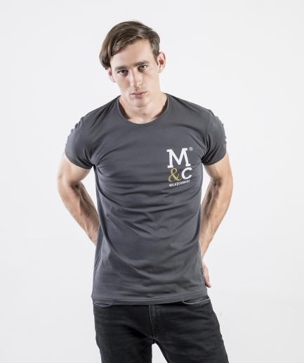 Milk and Cookiez pocket print Brand t-shirt t shirt Men model