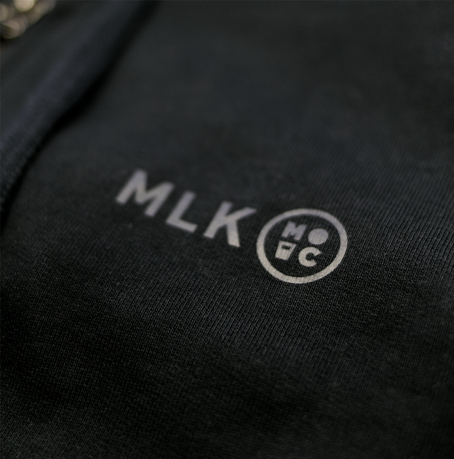 Milk & Cookiez MILK Burning bridges hoodie sweatshirt MLK detail