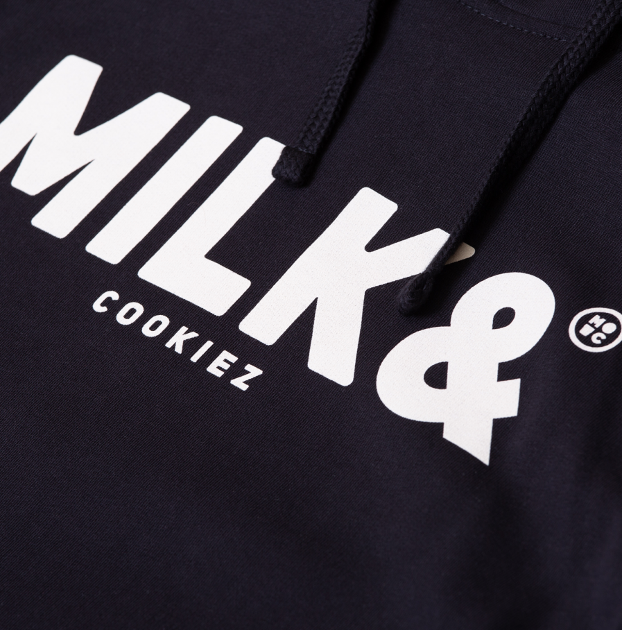 MILK & Cookiez back line hoodie product front detail 1